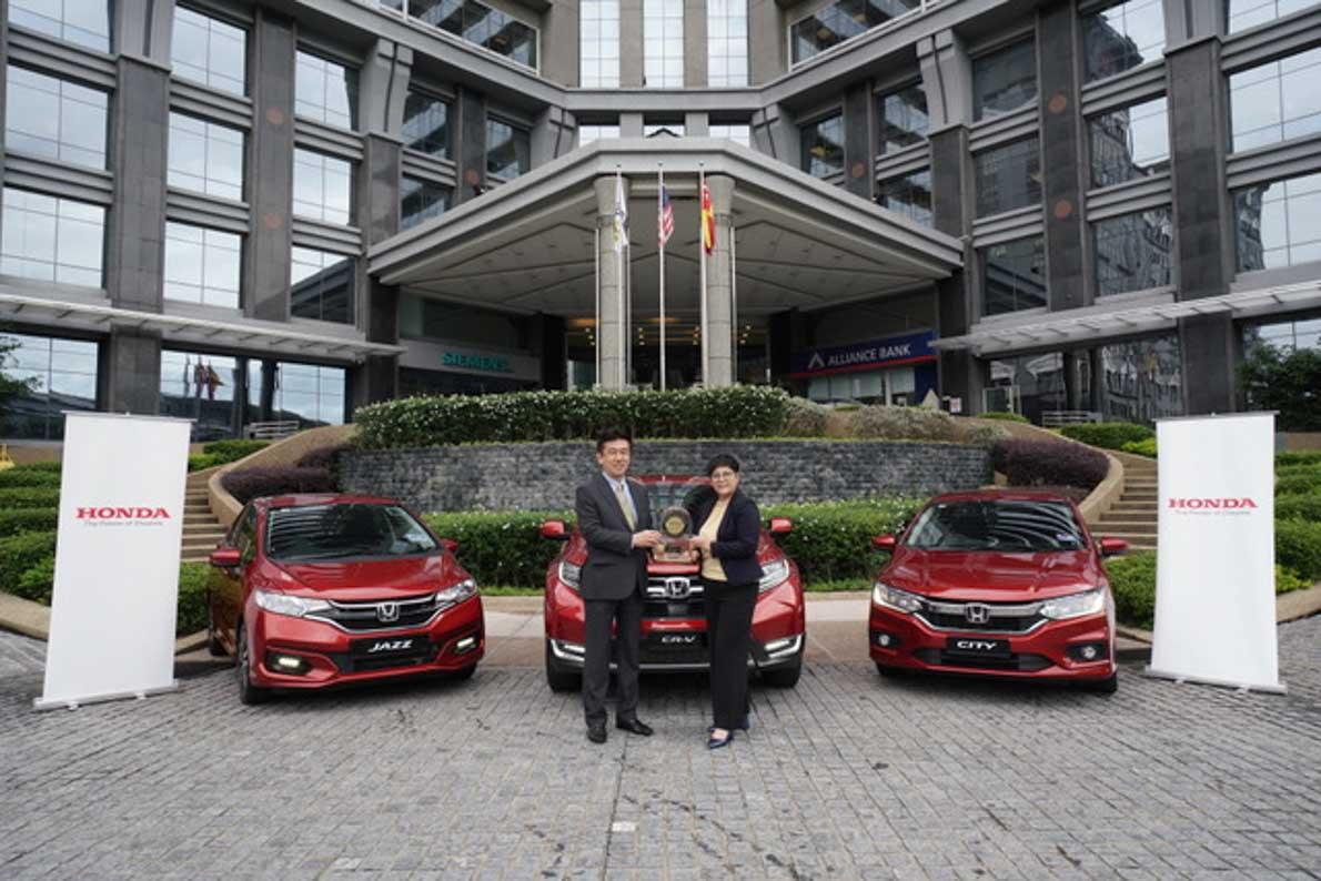 Honda 旗下的 City,Jazz 与 CR-V 成为2019 JD Power 新车质量调查的最大赢家