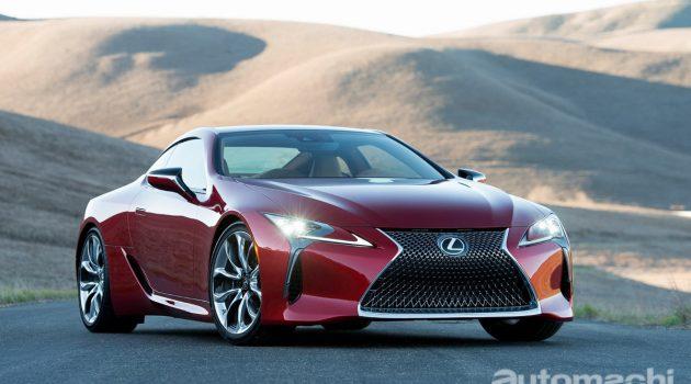 Lexus 正在测试全新的 V8 双涡轮增压引擎