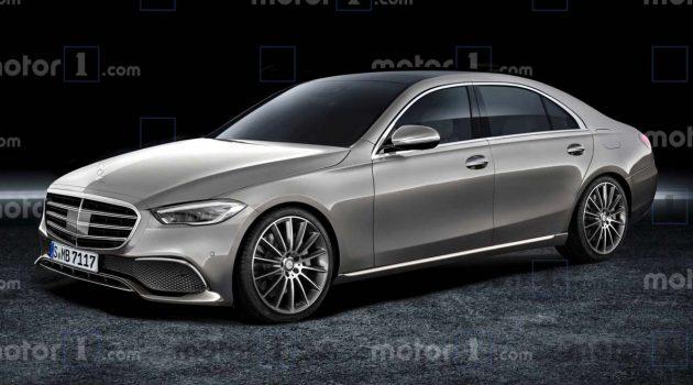 2021 Mercedes-Benz S Class 完整假想图与配备流出,发布在即