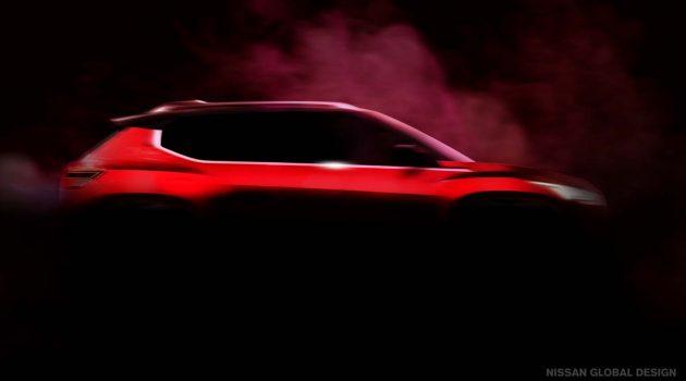 Nissan 官方释出新一代 Crossover 预告图,对手指向 Toyota Raize