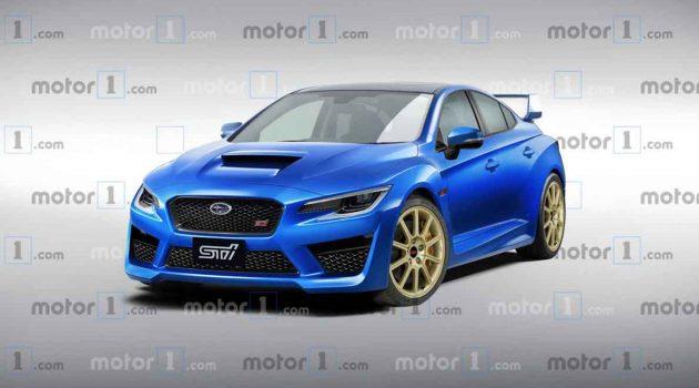 Subaru WRX STI 明年登场,最大马力或达400 Hp!