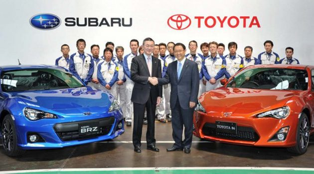 Subaru 正式加入 Toyota 集团,但未来并不会推出姐妹车型