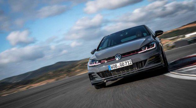 2021 Volkswagen Golf GTi TCR 实车谍照曝光,最大马力直逼296 Hp