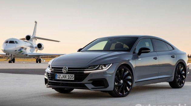 Volkswagen Arteon R 正在测试中,最大马力或达330 PS大关