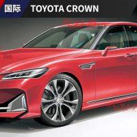 Toyota Crown 将与 Mazda6 成为兄弟车款?
