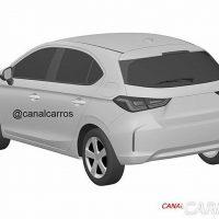 Honda City Hatchback 专利图泄露,真面目曝光