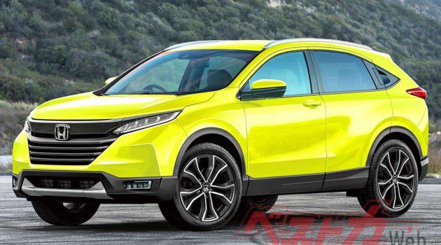 Honda HR-V 大改款计划中,或化身 Coupe SUV