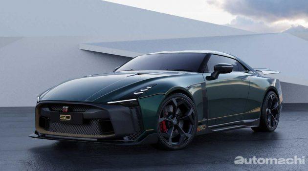 Nissan GT-R50 全球首台量产版将现身日内瓦车展