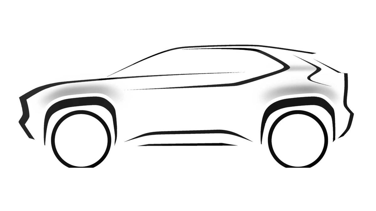 Toyota B-SUV 预告释出,日内瓦车展发表
