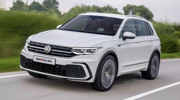 Volkswagen Tiguan R 现身,最大马力或达296 Hp