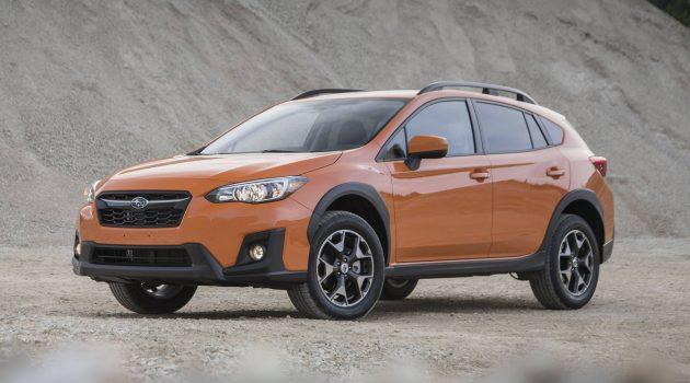 新款 Subaru XV 或将采用2.5L 水平对卧引擎