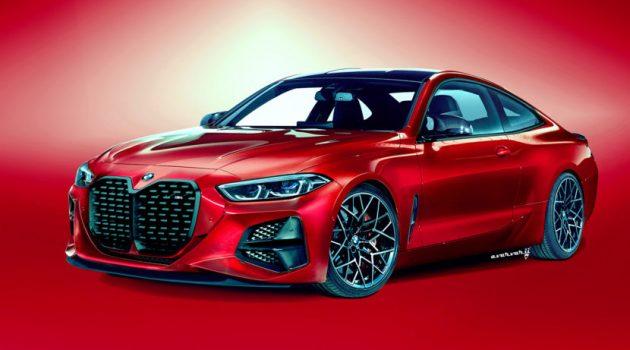 BMW 4 Series 测试车现身,最大马力或达382 Hp