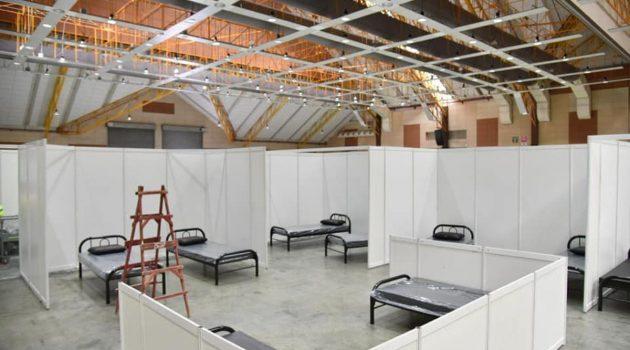 Serdang MAEPS 设立方舱医院,将有600张床位