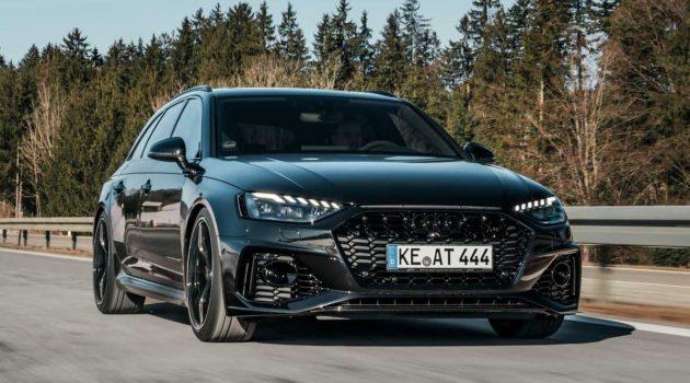 ABT Audi RS4 霸气登场,最大马力523Hp,百公里加速只需3.8秒