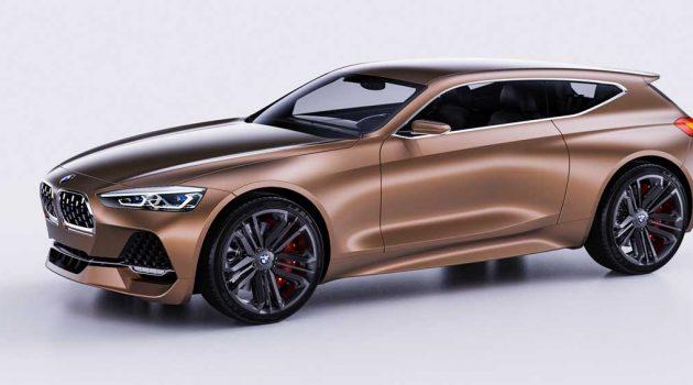 BMW Coupe 2020 Concept 假想图曝光,这样的设计你们喜欢吗?