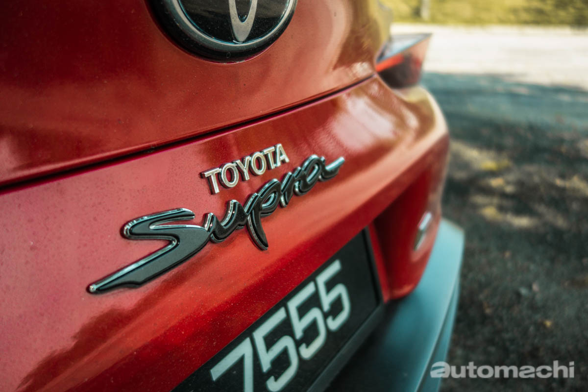 Toyota GR Supra ,绅士牛魔王!