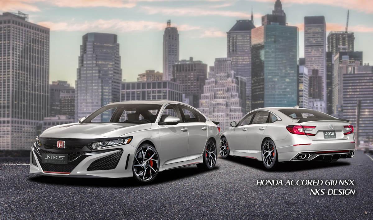 NKS 改装套件上身!2020 Honda Accord 摇身变 D-Segment NSX