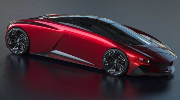 Mazda 新世代超跑假想图曝光,炫酷的中置引擎超跑