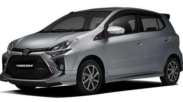 小改款 Toyota Agya 于印尼市场正式发布