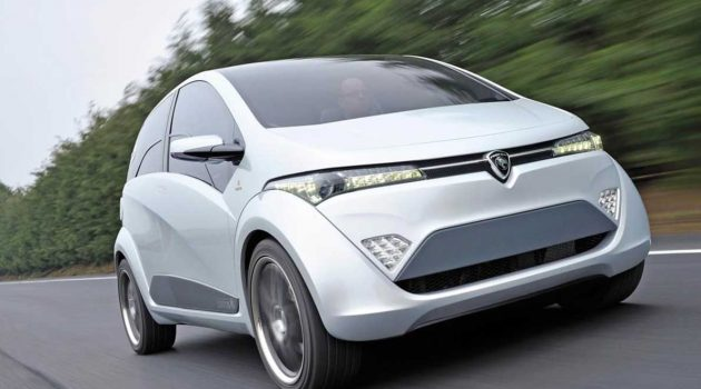 Proton EMAS ,一切很好,但是没有办法量产的车款