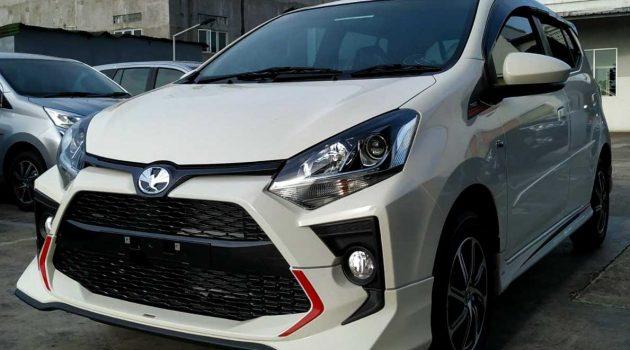 2020 Toyota Agya 印尼登场,Axia 的兄弟车帅吗?