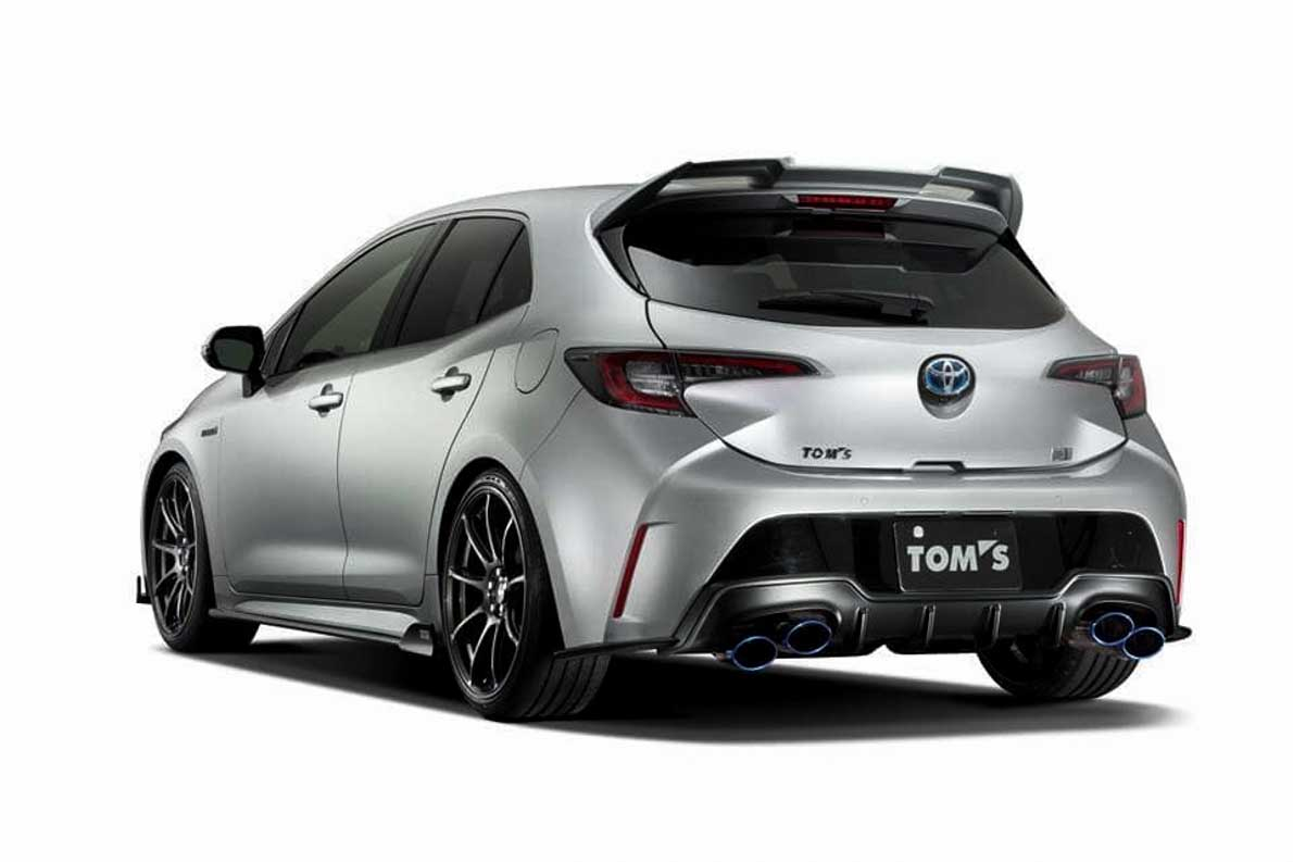 TOM'S 改装套件出炉,Toyota Corolla Hatcback 颜值爆表