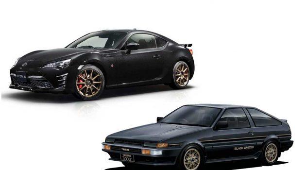 向经典致敬,Toyota GT86 Black Limited 限量登场