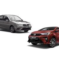 2020 Perodua Bezza VS 2019 Proton Saga ,保养费用大解析