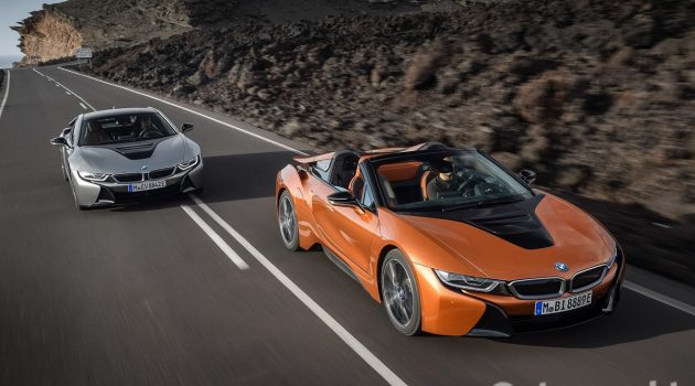 "BMW i8 ,技术最先进的""超级跑车""之一"