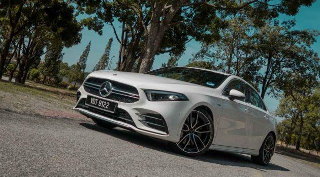Mercedes-AMG A35 Sedan ,最便宜 AMG 房跑
