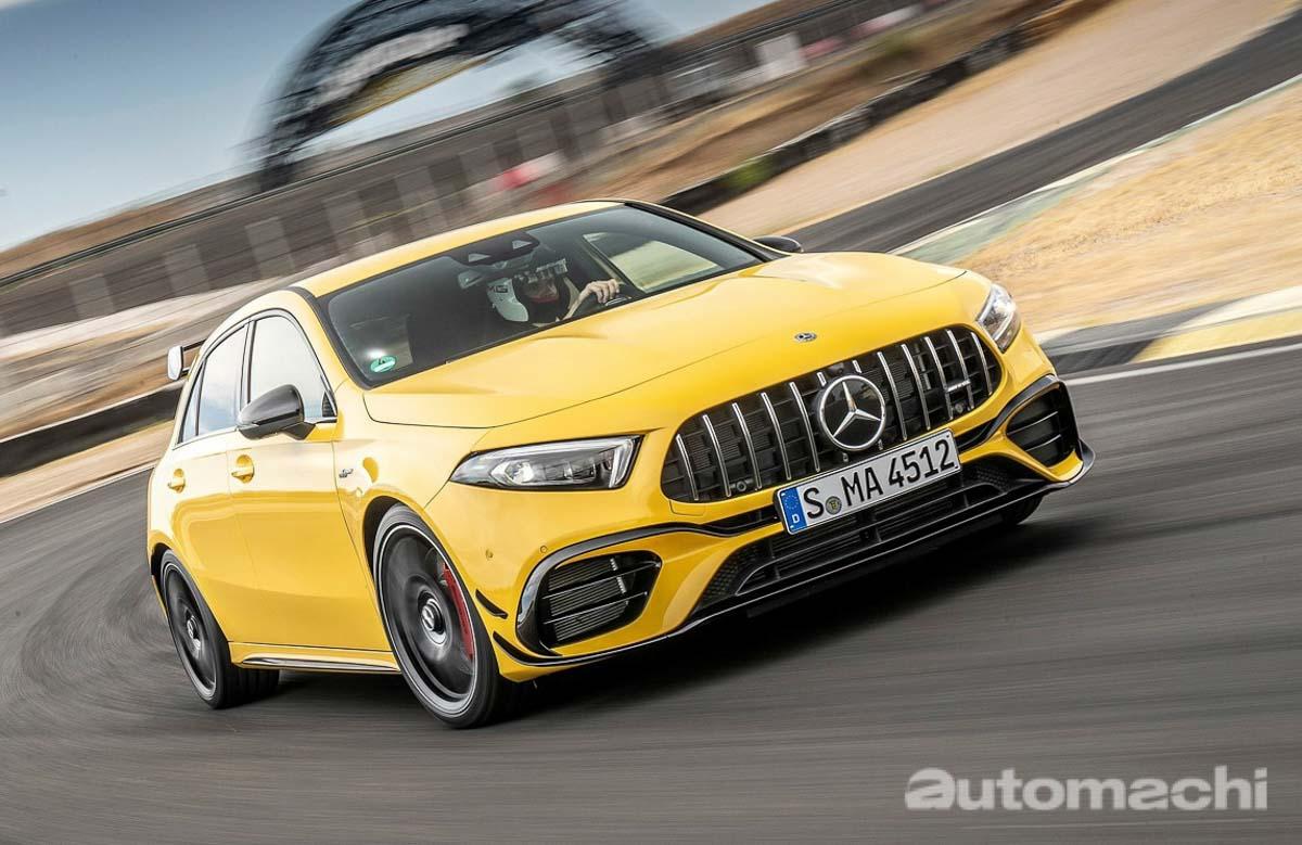 Mercedes-AMG A45 S 纽柏林圈数败给 Civic Type R ,原因何在?