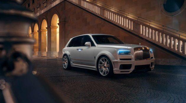 Rolls Royce Cullinan 改装套件出炉,扭力破千的 SUV