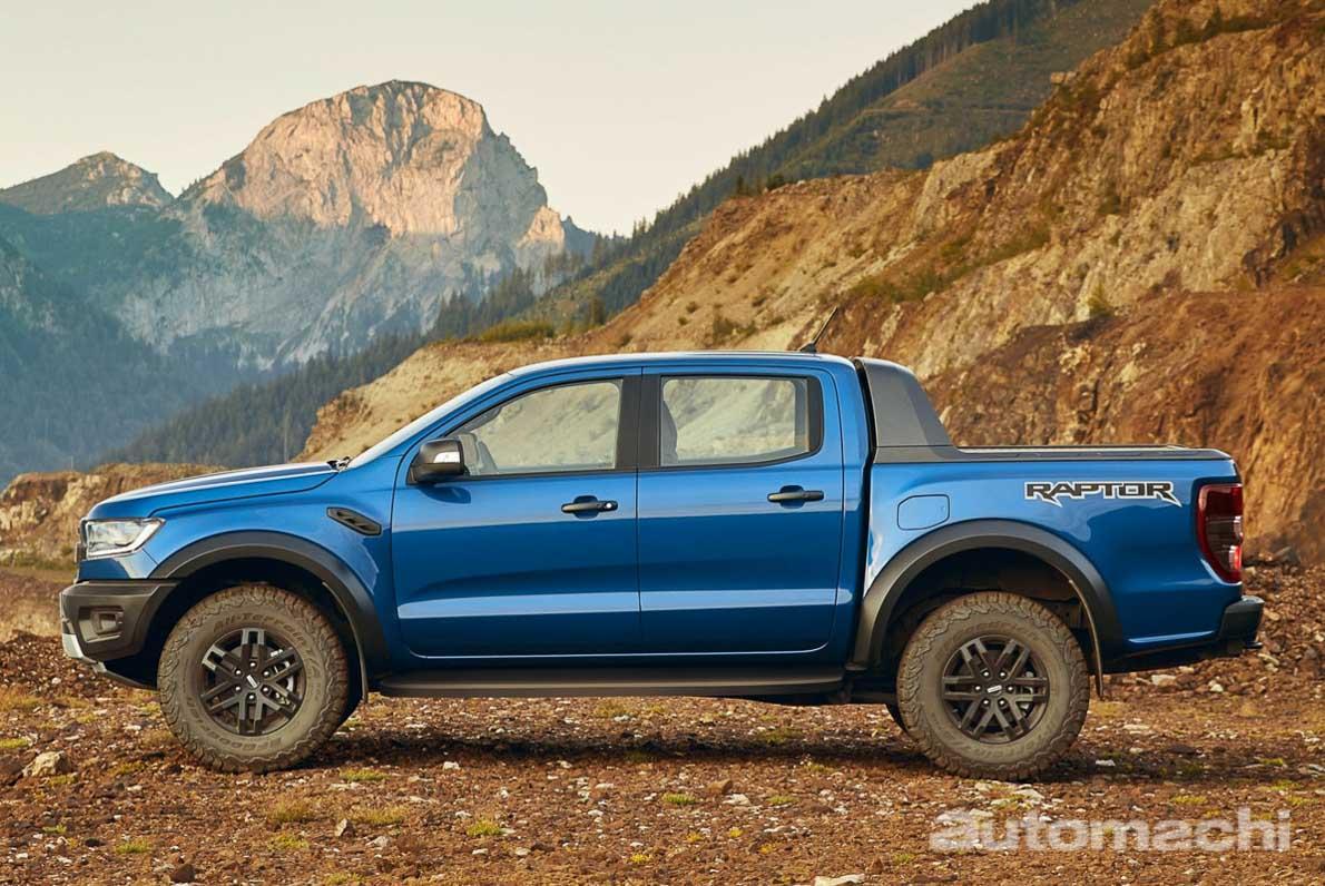 2020 Ford Ranger Raptor 正式登场,售价 RM208,888