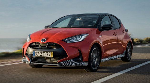 2020 Toyota Yaris 现身泰国测试,或搭全新1.5引擎