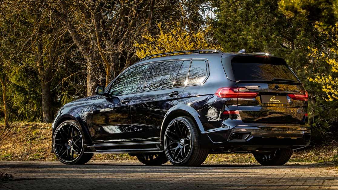 BMW X7 Lumma CLR 黑暗登场,外观煞气十足