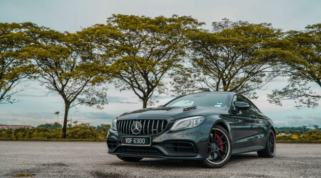 Mercedes-AMG C63 S Coupe ,西装笔挺的坏男孩