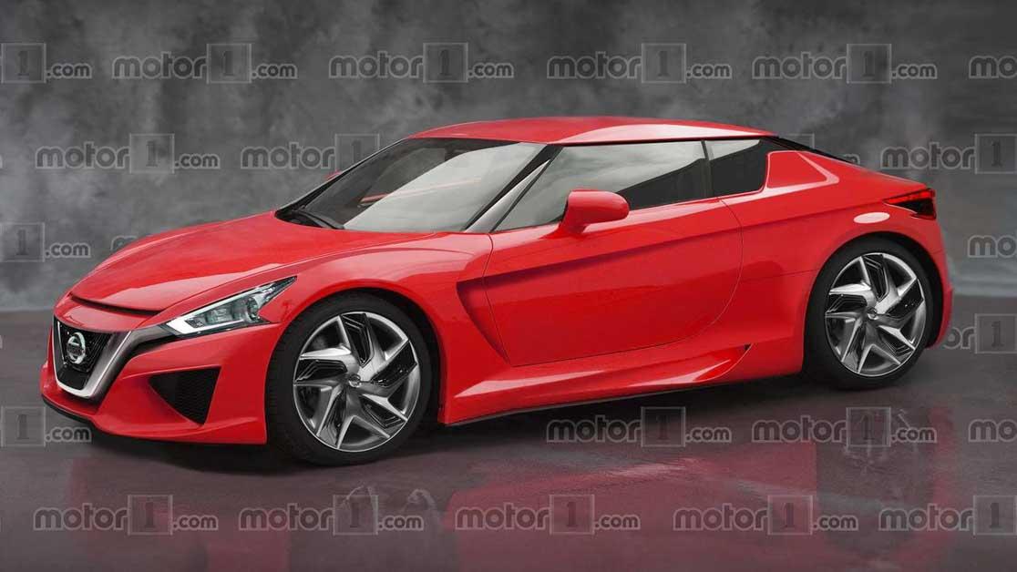 Nissan 400Z 或将在2022年登场,搭载 V6 双涡轮增压引擎,最大马力400Hp   automachi.com