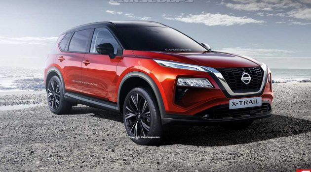 新一代 Nissan X-Trail 设计曝光,颜值逆天