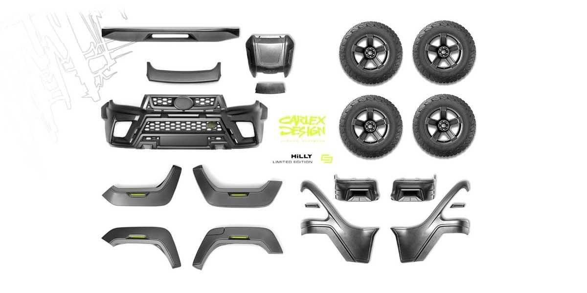 Toyota Hilux Hilly By Carlex Design 霸气登场,全球限量500辆!