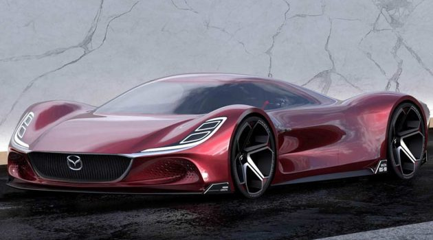 Mazda RX-10 Vision Longtail 资讯曝光,搭载转子引擎,马力1030Hp!