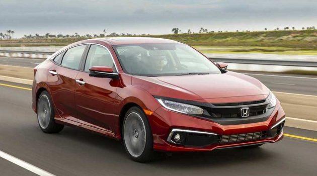 Honda Civic 获得2019最佳汽车忠诚大奖