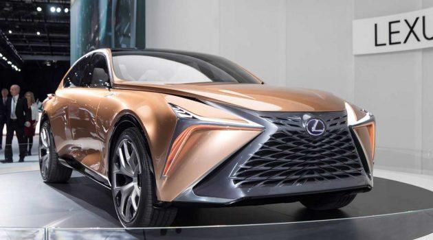Lexus LQ 旗舰 SUV 资讯曝光,或将在2022年登场
