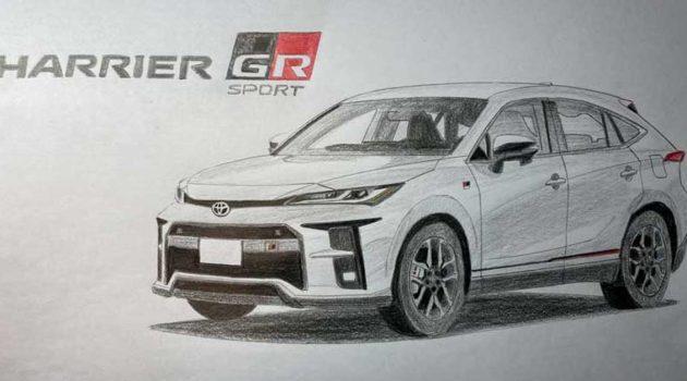 新一代 Toyota Harrier 或将会有 GR Sport 版本