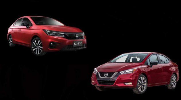 2020 Honda City VS 2020 Nissan Almera,哪一款新车更适合你?