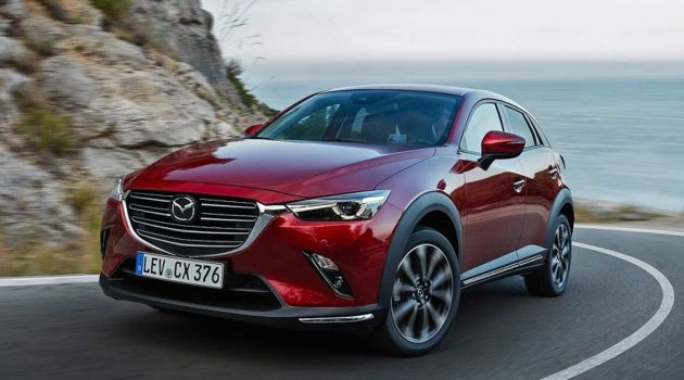 Mazda CX-3 或将采用全新设计+全新平台再战 Crossover 市场