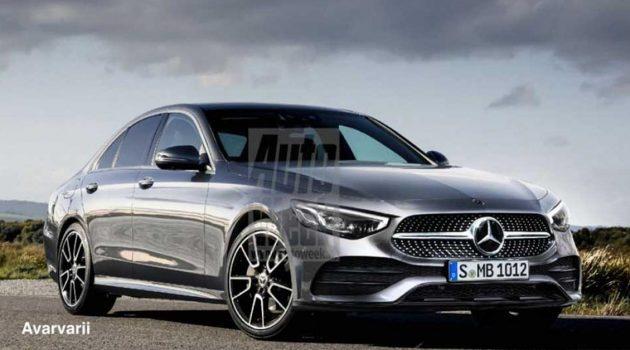2021 Mercedes-Benz C Class 最快今年登场,或将搭载 AMG A45 涡轮引擎?