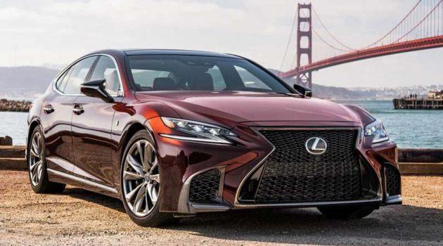 Lexus LS 或将复活5.0L V8 引擎,并新增2.0L 涡轮入门版