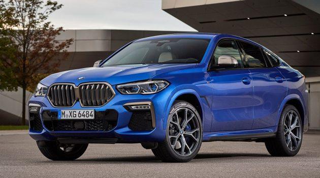 BMW X6 xDrive40i M Sport 大马正式发布,售价RM 729,800