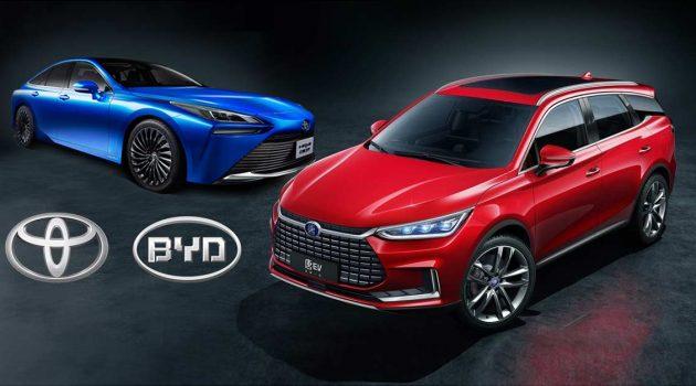 Toyota 与 BYD 合资设立新公司,未来共同研发新车款