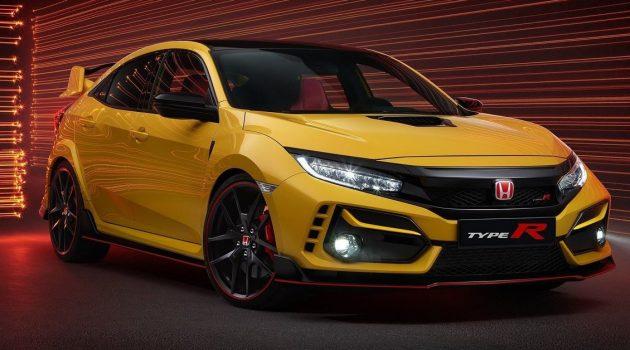 Honda Civic Type R 价格从官网消失,小改款可能即将来临
